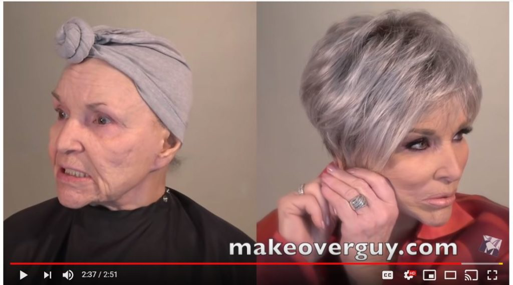 Before and After Makeup & Hair Makeover
