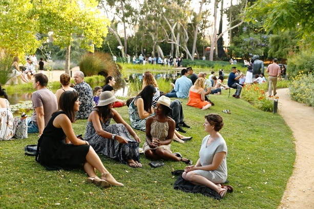 LA LIFE: Garden Party, Poets & Salsa, Watermelon, July 4