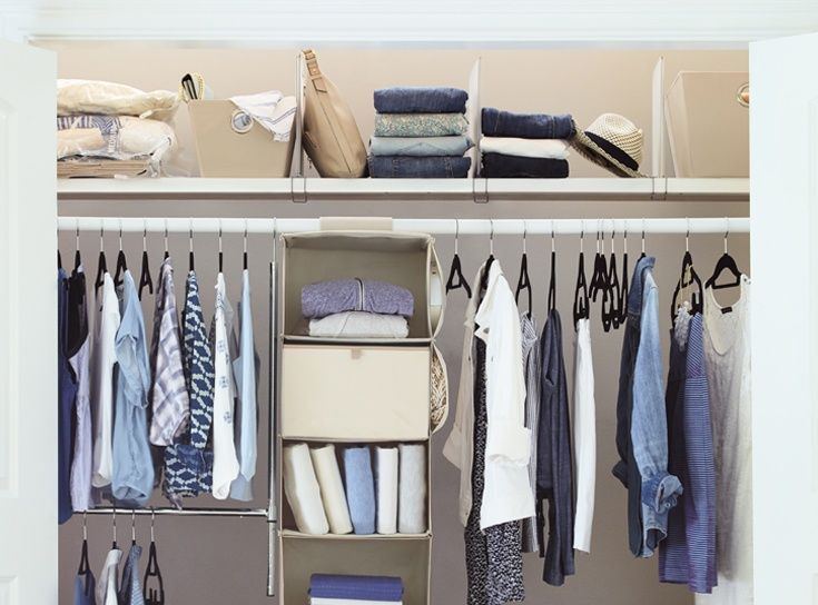 11 Simple Ways to Organize Your Clothes and Closet