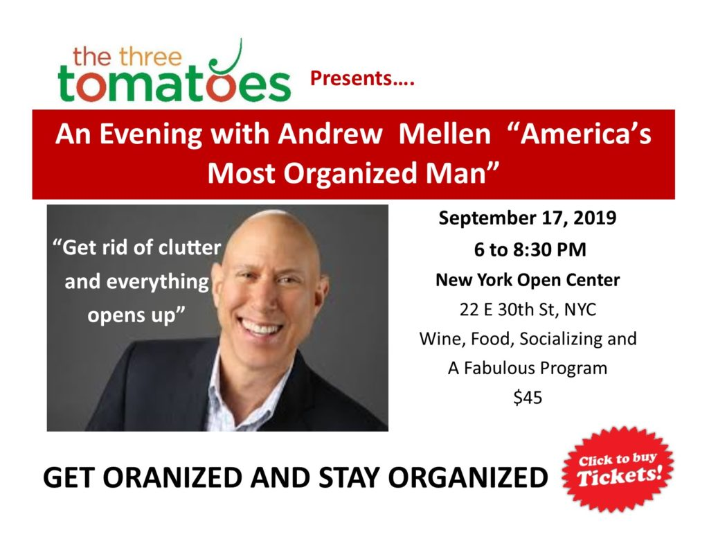 andrew mellen get organized and stay organized
