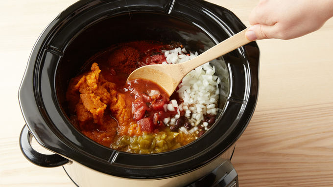 Slow-Cooker Pumpkin Chili