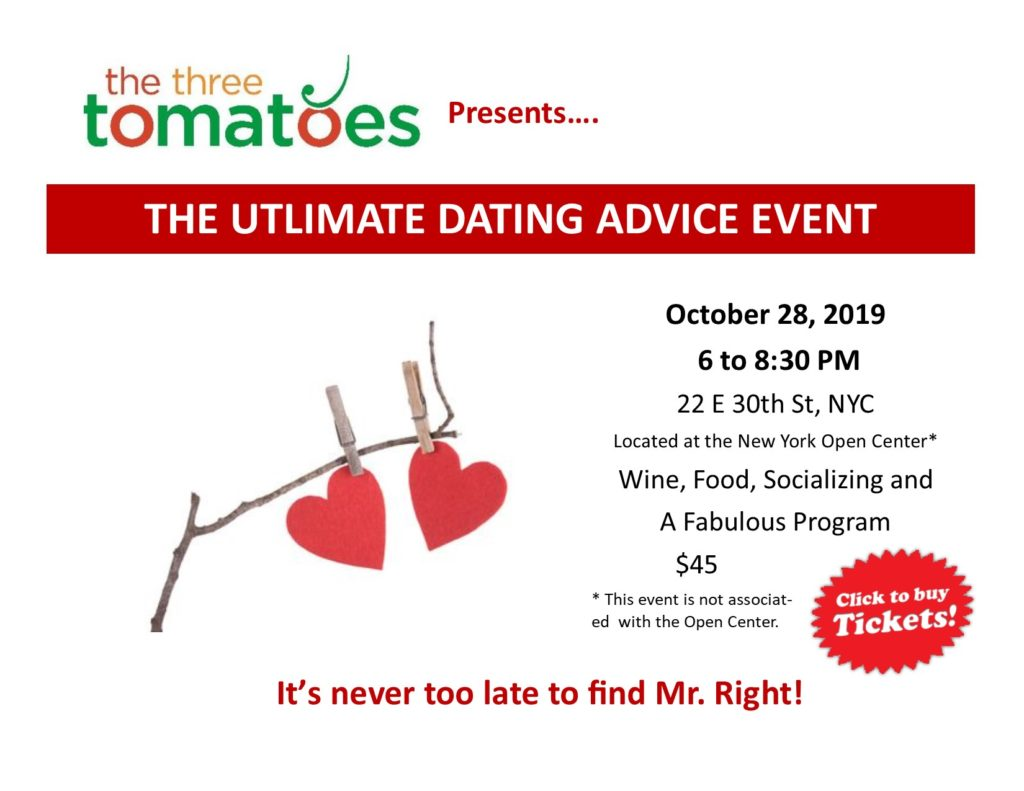 NYC LIFE: Dating Event, Friars Club, Helping Girls,