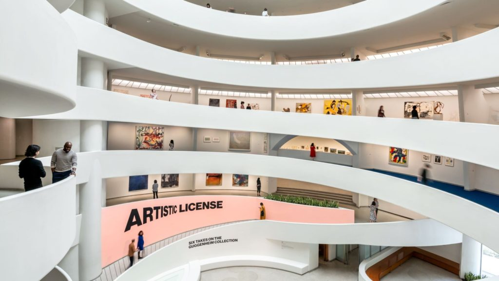 New Exhibits at the Guggenheim