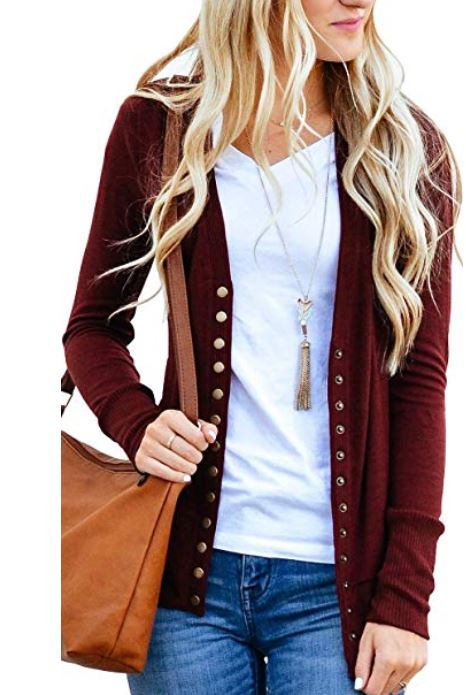 Cardigans for Fall