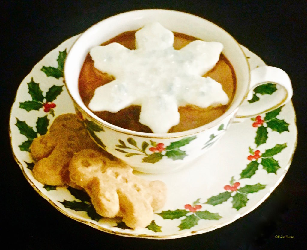 A Wining Trifecta -Hot Chocolate, Cookies and Marshmallows