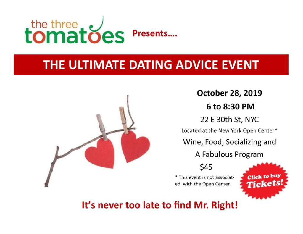 The Ultimate Dating Advice Event