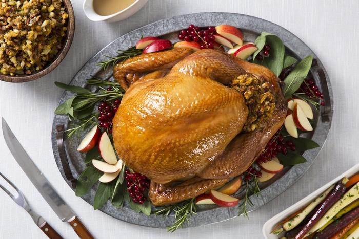 Apple-Glazed Roast Turkey