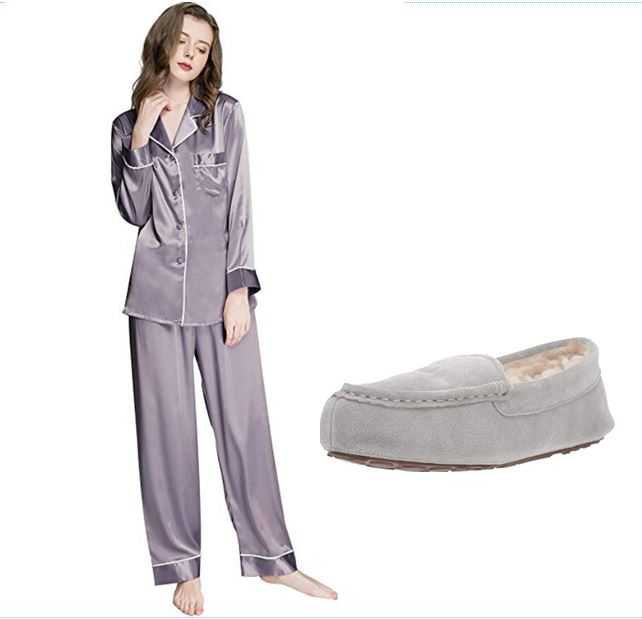 Cozy PJs and Slippers