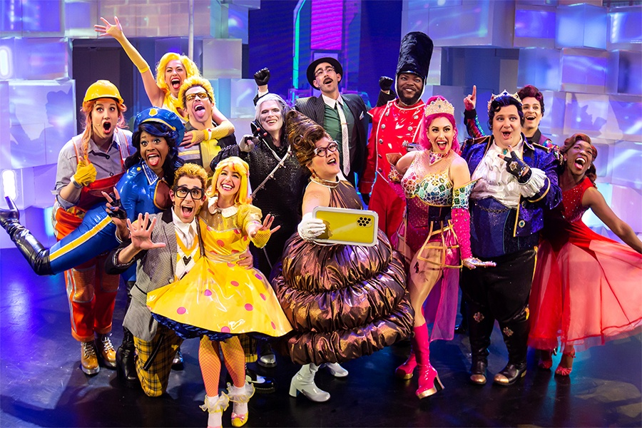 Go see Emojiland: The Musical!