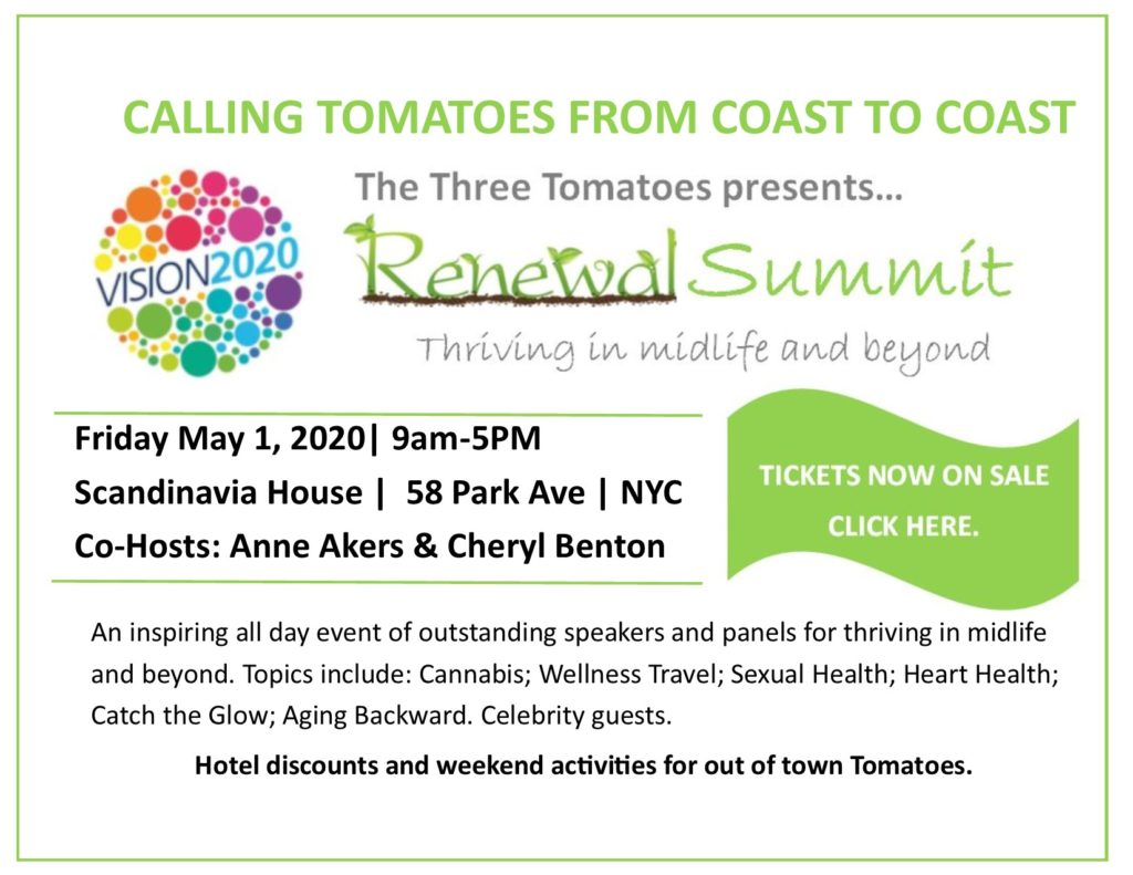 The Three Tomatoes Renewal Summit