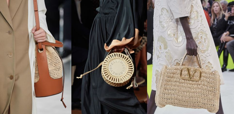 Straw Bags & Flower Power