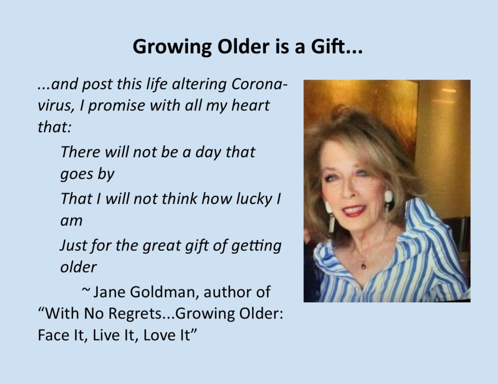 The Gift of Getting Older