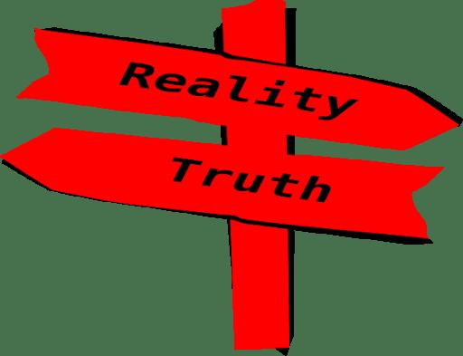 Reality vs Truth