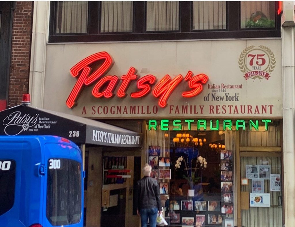 Patsy's: A NYC Institution