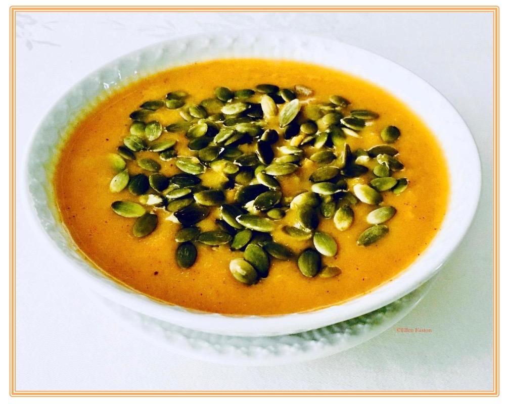 Honey Roasted Apple, Carrot, Butternut Squash Soup