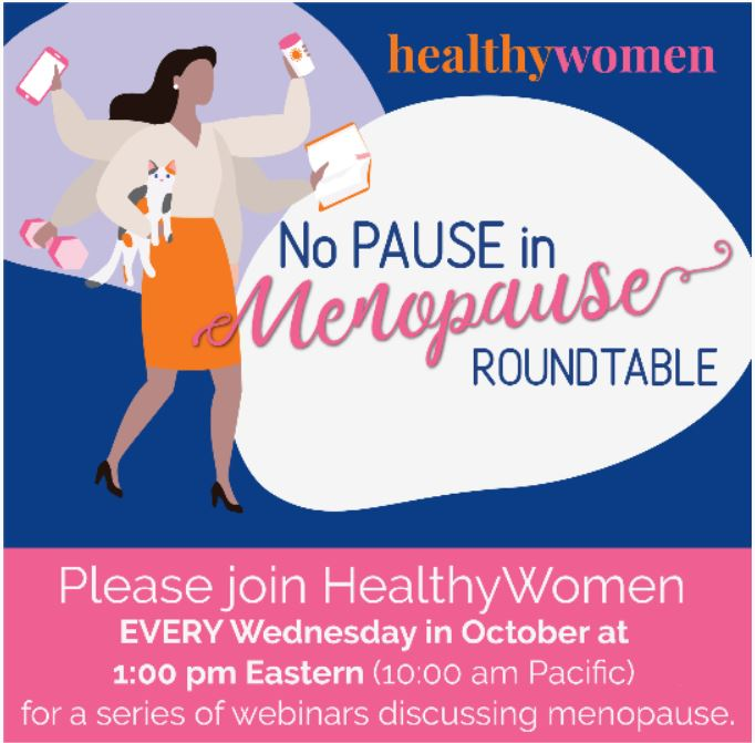 """No Pause in Menopause"" Roundtable Series"