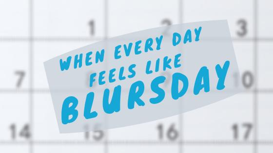 Defining Blursday