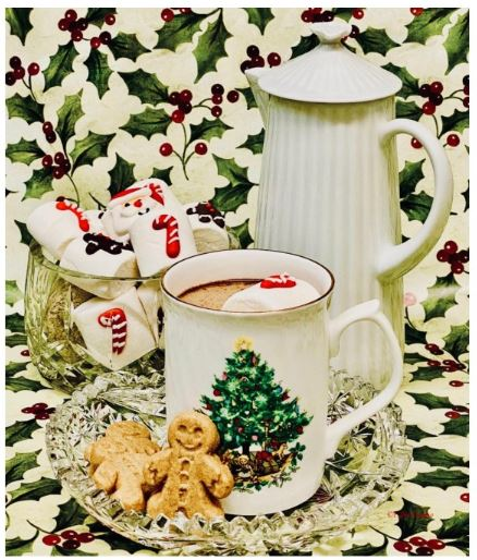 Christmas Marshmallows, Hot choclolate and cookies for Santa 2020©Ellen Easton.jpeg