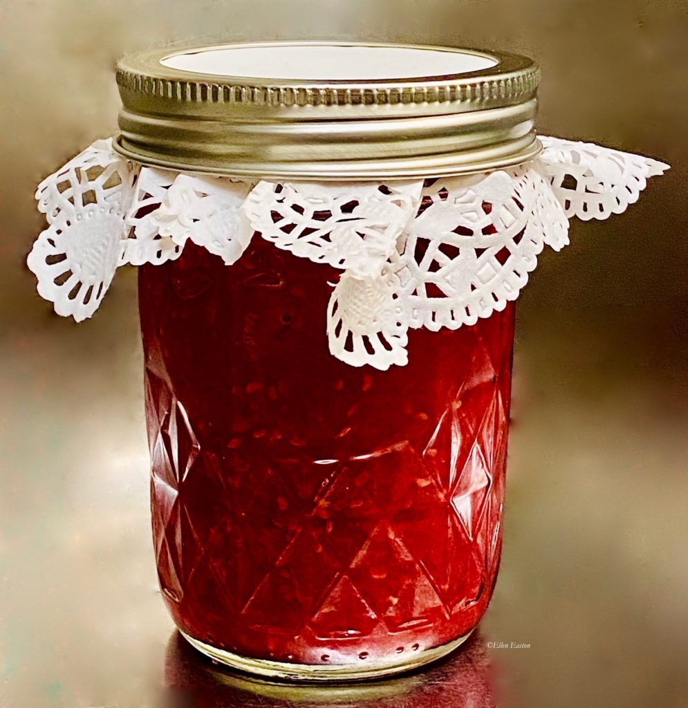 Raspberry-Strawberry Rose Reduction