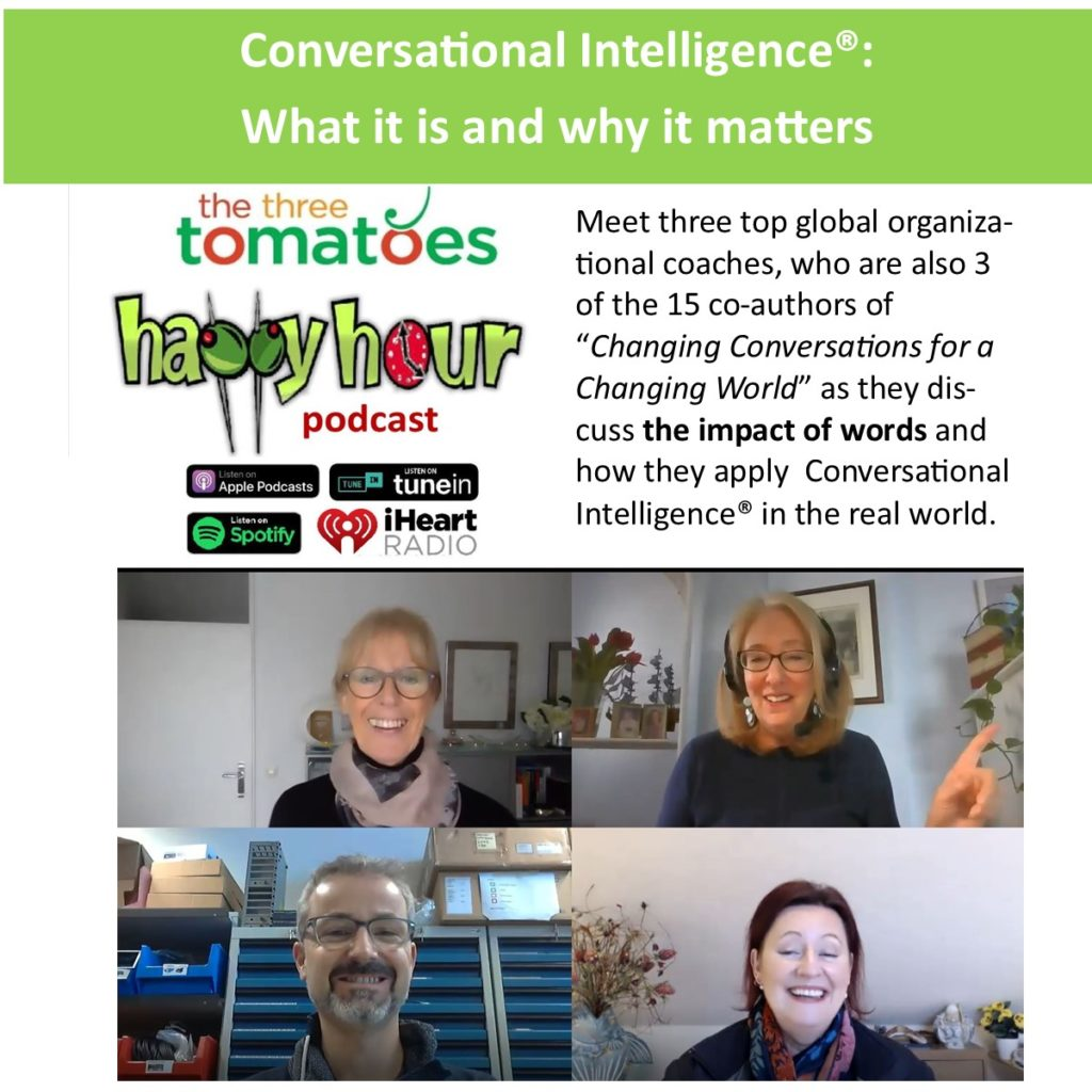 The Three Tomatoes Happy Hour Podcast