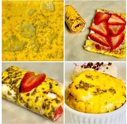 Baked Eggs: Roses, Rolls & Ramekins