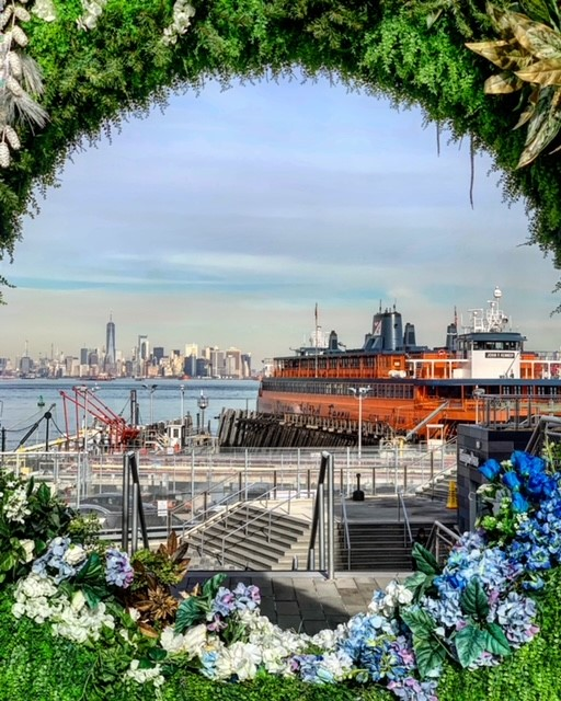 NYC Life: Art Exhibits, Ferries, Theater, Friends, Flea Markets