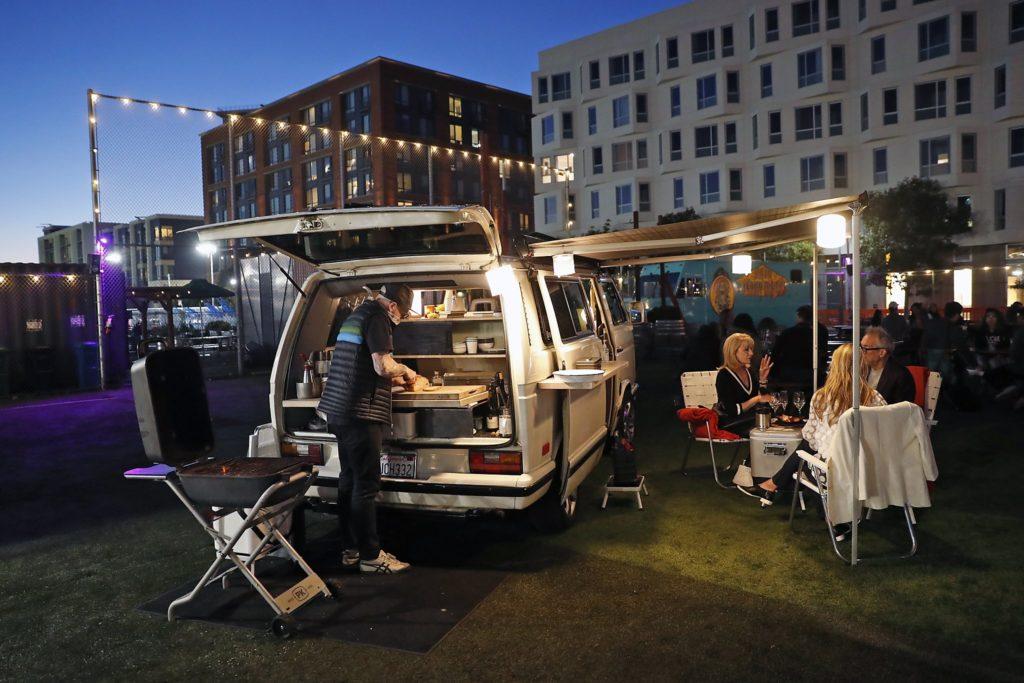 SF LIFE: LA COCINA, CANDLELIGHT CONCERTS, VAN DINING, OCEAN BEACH