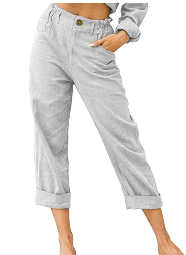 Capris, Cropped, and Linen Pants