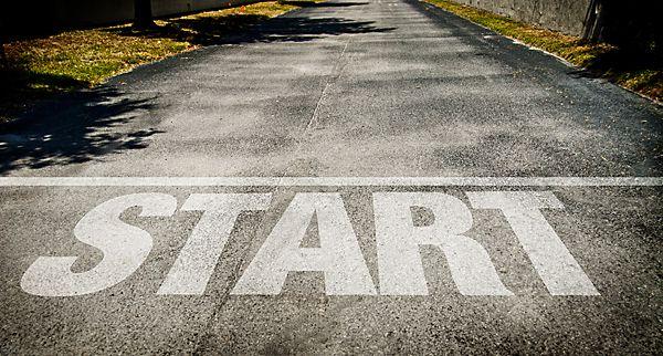Just Get Yourself to the Starting Line
