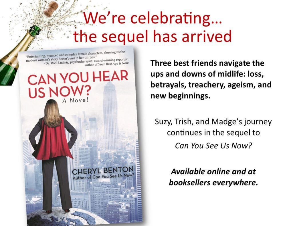Can You Hear Us Now? Cheryl Benton